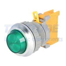1pcs  Spia 30mm BA9S, lampadina IP65 -20÷60°C Ø30mm Colore verde TELSTORE