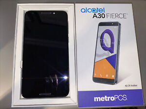 Alcatel A30 Fierce 5049Z, Metro PCS , 32GB, Grey