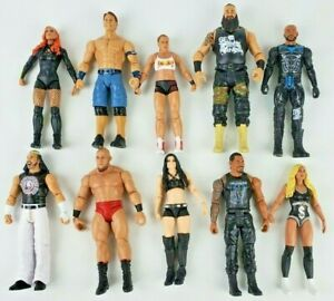 WWE Basic Series Wrestling Action Figure Mattel You pick figure Updated 1/10
