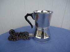 vintage art deco birko baby bottle warmer kettle urn chrome jug  large size