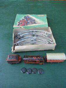 Vintage BUB Train Made in Western Germany with Original Cardboard Box
