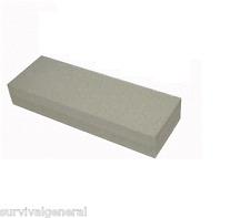 "6"" Aluminium Oxide Sharpening Stone Duel 120 240 Grit Knife Sharpener Blades"