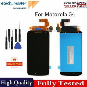 For Motorola Moto G4 Gen 4th LCD Display Touch Screen Black XT1620 XT1621 XT1622