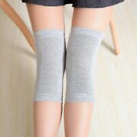 Womens Mens Warm Wool Knee Warmers Kneepad Leg Thigh High Socks Pad Legging