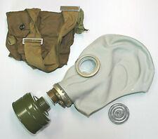Alte Russische NVA ABC Schutzmaske Gasmaske CCCP Latex m. Tasche Fetisch Maske