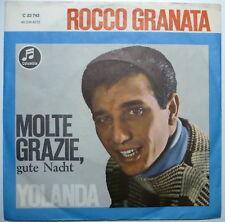 """ROCCO GRANATA - Molte grazie, gute Nacht - 7""""-Single"""