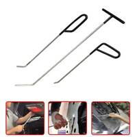 3PCS Car Paintless Dent Puller Rods Hail Removal Tools Car Body Repair Kit(A/C)
