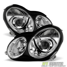 [Factory Style] 2001-2007 Mercedes Benz W203 C230 C240 C320 Projector Headlights