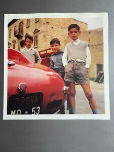 1962 Ferrari Targa Florio, Jesse Alexander Photo, Print, Poster RARE!!