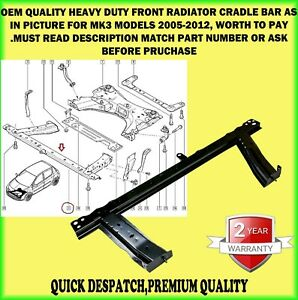 FRONT SUBFRAME ENGINE CRADLE RADIATOR SUPPORT PANEL BAR FOR CLIO MODUS 2005-2012
