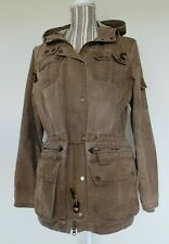 Barbour Womens Brown Jacket Hayle Parka Size 12