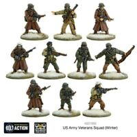 Bolt Action Us Army Veterans Squad (winter) Box - Metal