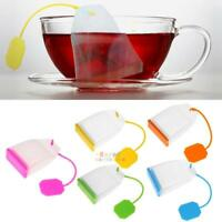 New Silicone Bag Style Tea Leaf Strainer Infuser Teacup Teapot Filter Diffuser
