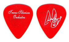 TSO Trans-Siberian Orchestra Chris Caffery Signature Clear Red Guitar Pick