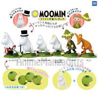 MOOMIN PARADE FIGURE MASCOT COLLECTION (COMPLETE 6 PCS) TAKARA TOMY ARTS JAPAN