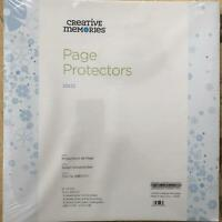 12x12 Page Protectors for Creative Memories Scrapbook Album NEW True Size