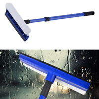 NEW Adjustable Double Sided Window Windshield Car Squeegee Wiper Cleaner Brush F