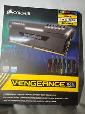CORSAIR 16GB DDR4 3000MHz VENGEANCE RGB 2x8GB CMR16GX4M2C3000C15 RAM BRAND NEW