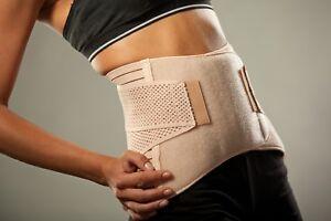 LOREY - Hochwertige Rückenbandage, Rückenstütze, Rückengurt, Lumbalbandage