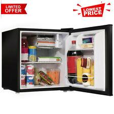 Mini Fridge Small Refrigerator 1.7 Cu Ft Single Door Compact Dorm Home Black