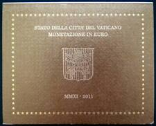 VAX2011.1 - COFFRET BU VATICAN - 2011 - 1 cent à 2 euros