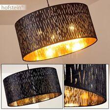 Lampe à suspension ronde Plafonnier Lampe pendante moderne Lampe de séjour noire