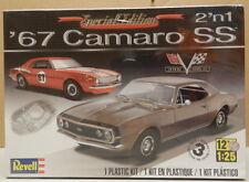 1967 67 CHEVY CAMARO SS STOCK RACE CAR 396 RAT MOTOR TURBO JET REVELL MODEL KIT