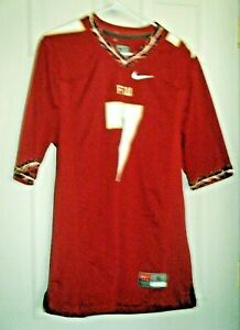 Florida State Seminoles FSU Nike Team Authentic NCAA #7 Jersey Men's Small Used