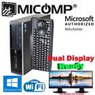 Gaming Hp SFF Computer PC AMD HD 5450 3.10Ghz 4Gb 250Gb Windows 10 Wifi HDMI DVI