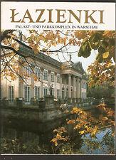 bildband Lazienki Palast und Parkkomplex in Warschau Interpress Verlag Warszawa