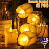 12PCS Flameless Candles Battery Operated Flickering LED Tea Light W/Remote Xmas