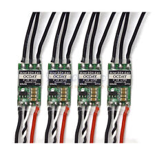 4x 20A Brushless Blheli ESC For 2-4s LiPo FPV QAV250 200 Quadcopter (No BEC) US