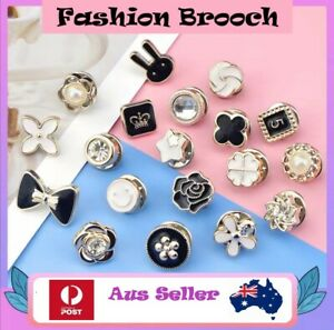 Fashion Brooch Pin Button Replacement 4/10 pack Aus Seller Quick Shipping