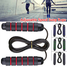 Adjustable Skipping Rope Weighted Adjustable Speed Jump Rope Workout Exercise