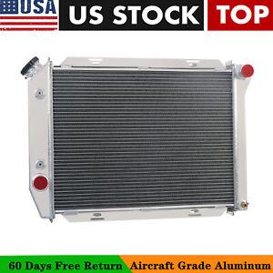 2 Row All Aluminum Alliant Radiator For 1963-70 Ford//Mercury Cars