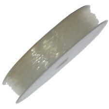15 METRI FILO ELASTICO TRASPARENTE 0.6 mm cavo elastico gioielli