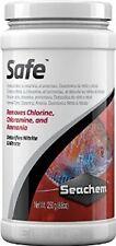 SeaChem Safe- 250 Gm- Dry version of Prime-Removes Chlorine,Chloramine, Ammonia