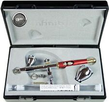 Harder & Steenbeck INFINITY CRplus 2 in 1 #2 Airbrush Brand New 0.2+0.4 nozzles