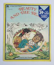 Beauty And The Beast A Golden Junior Classic 1986 Ill. By Jane Chambless-Rigie