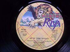 """ROD STEWART Da Ya Think I'm Sexy-Dirty Weekend Riva 7"""" 1978"""