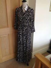Zara Marilyn Black Leopard Print Shirt Dress (sold out)