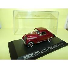 RENAULT JUVAQUATRE COUPE 1941 Bordeaux NOREV Collection M6 1:43