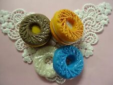 Circle coconut cookie silicone mold fondant cake decorating APPROVED FOR FOOD