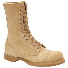 "Corcoran 10"" Jump Desert Tan Jump Combat Boots W/ Bum-U Inserts & Jungle Soles 8"