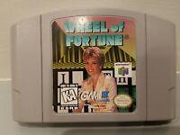 GOOD Wheel of Fortune Nintendo 64 N64 Retro Trivia Video Game TV Show Super Fun