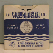 viewmaster reel 164 Cypress Gardens Florida  1949 Sawyer 7 views