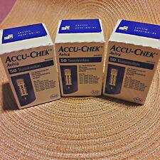 Accu Chek Aviva 150 Blutzucker Teststreifen neu OVP