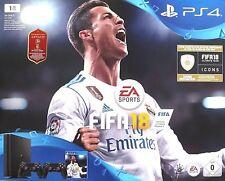 SONY PlayStation 4 Slim 1TB Spiele Konsole PS4 Bundle WM + FIFA 18, 2 Controller