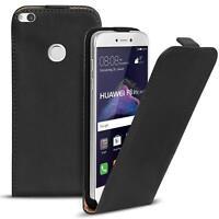 Slim Flip Cover Case Huawei P8 Lite 2017 Schutzhülle Handy Schutz Hülle Tasche