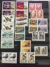 Russia Soviet Union MNH Stamp Lot Lenin Space Birds 1976 1987